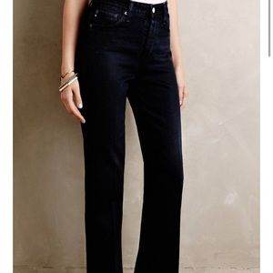 NWT Anthropologie Alexa Chung For AG Wide Leg Jean